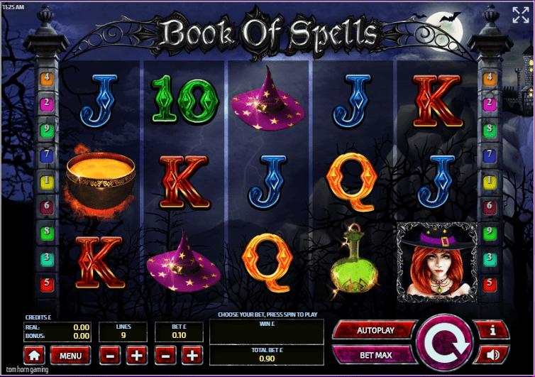 Book Of Spells Gameplay