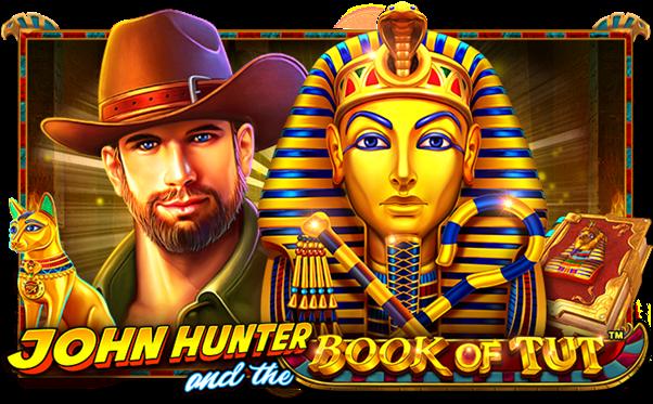 John Hunter and the Book of Tut Slots Mega Reel