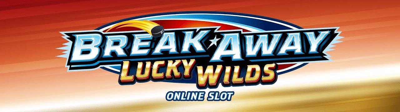 Break Away Lucky Wilds Slot Logo Mega Reel