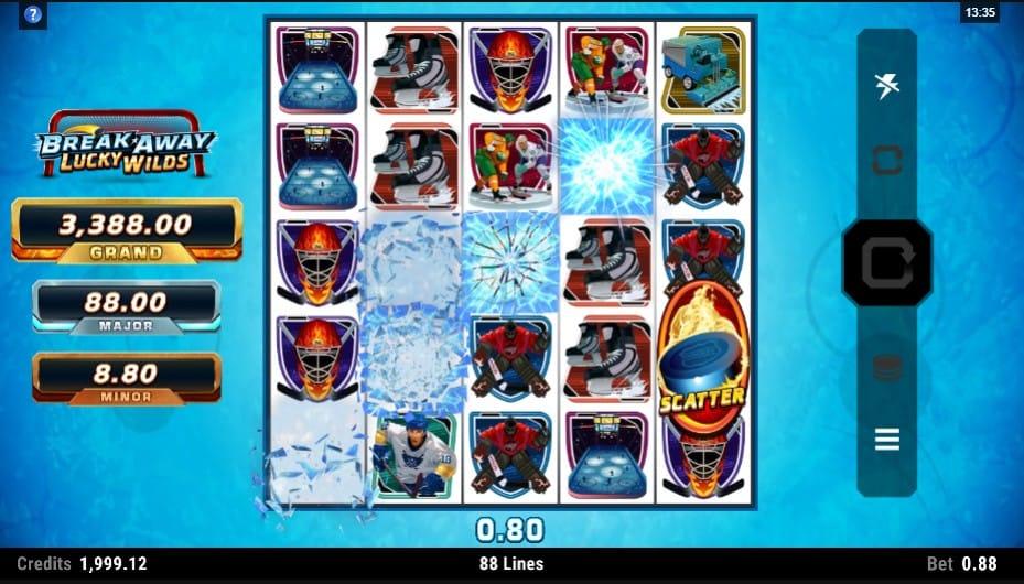 Break Away Lucky Wilds Slot Gameplay