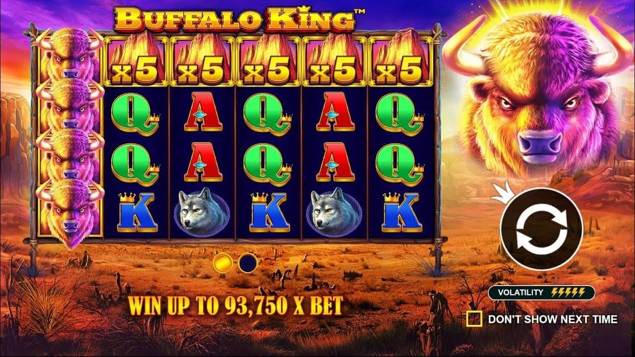 Buffalo King Slots Game Play
