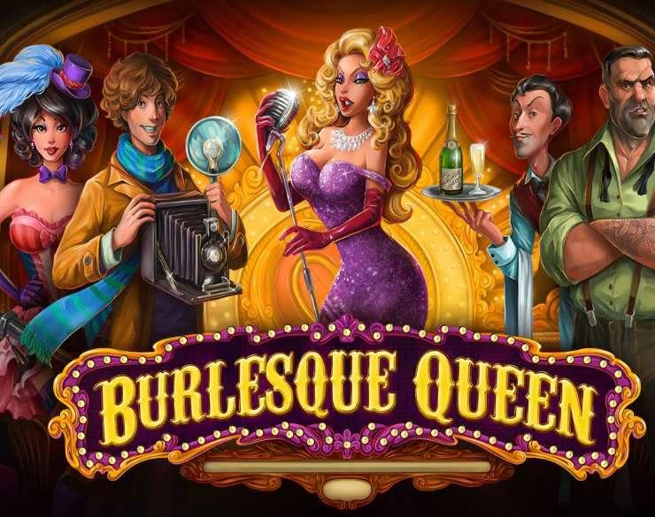 Burlesque Queen Logo