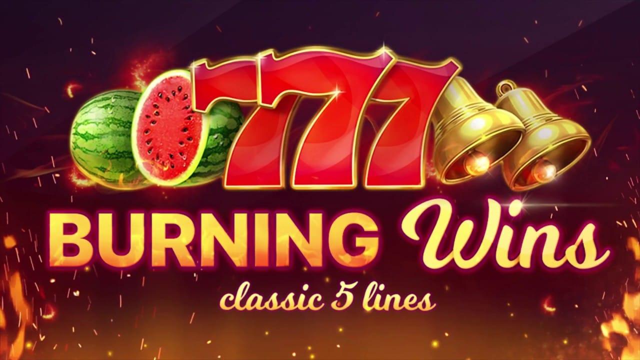 Burning Wins Logo
