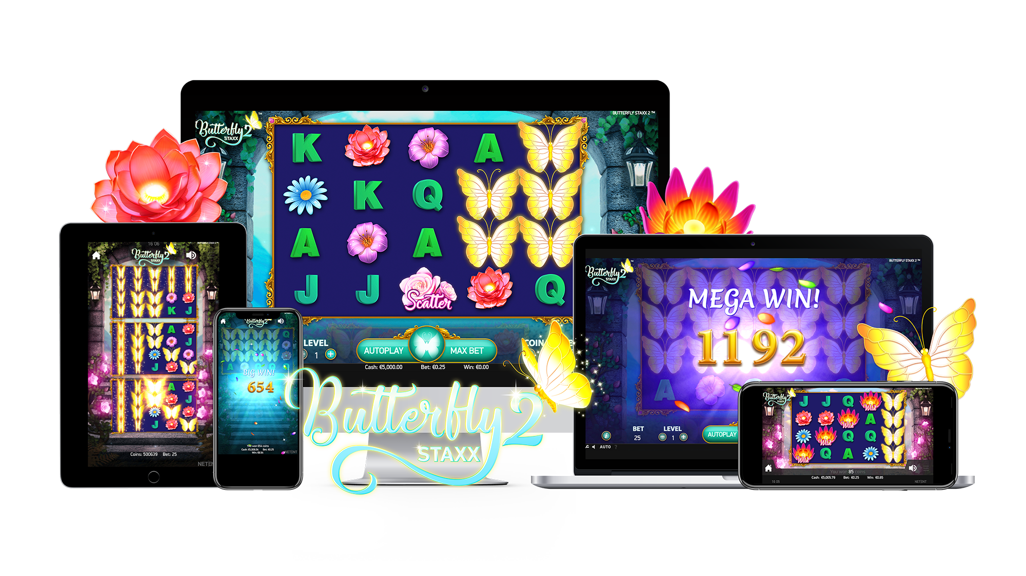 Butterfly Staxx 2 Mobile Slots