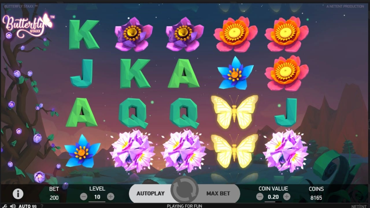 Butterfly Staxx Slots UK