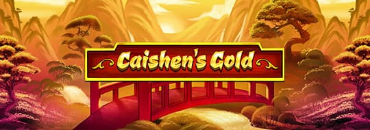 Caishen's Gold Slot Header