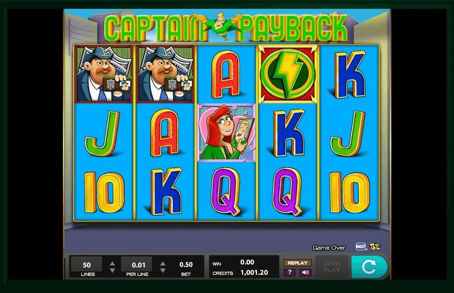 Captain Payback Slots uk