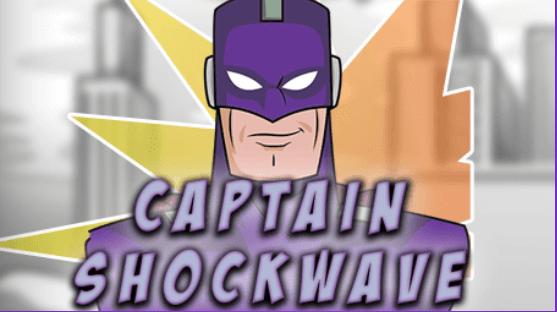 Captain Shockwace Logo