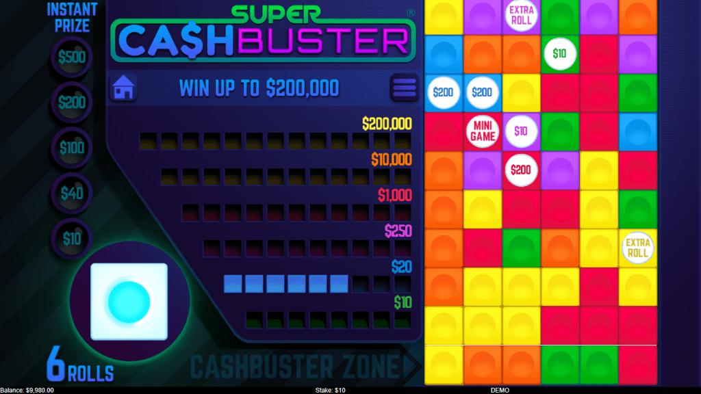 Super Cash Busters Slots Game