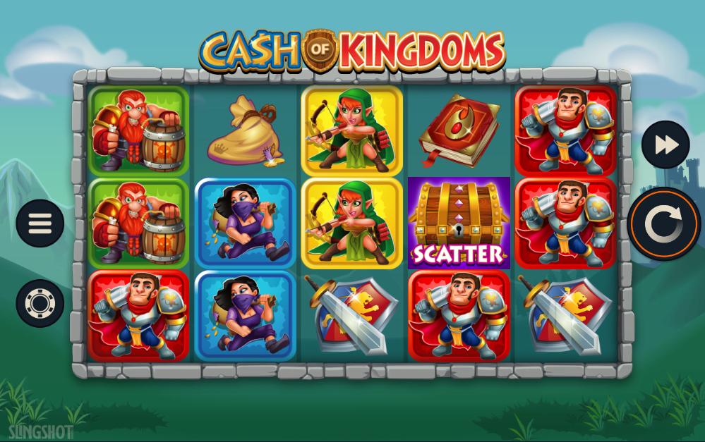 Cash Of Kingdoms Gameplay