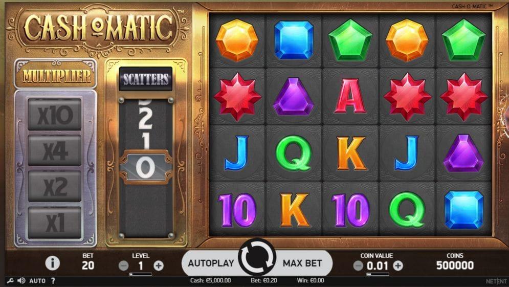 Cash-O-Matic Slots UK