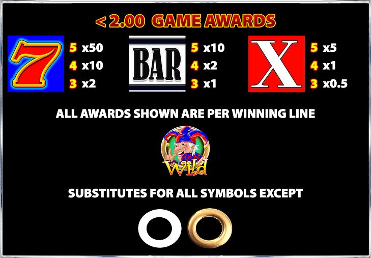 Cash Stax Slot Info