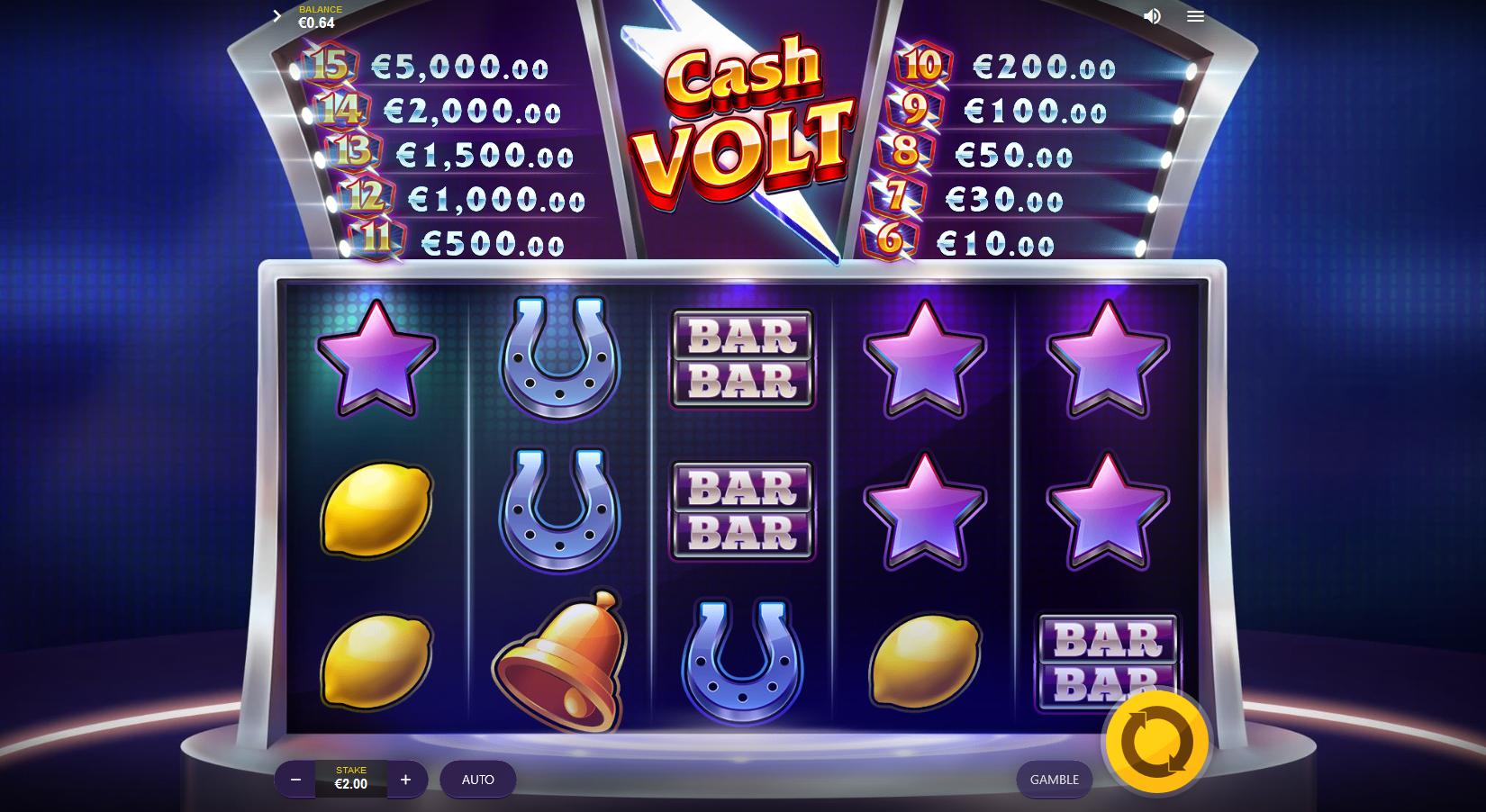 Cash Volt Slots Online