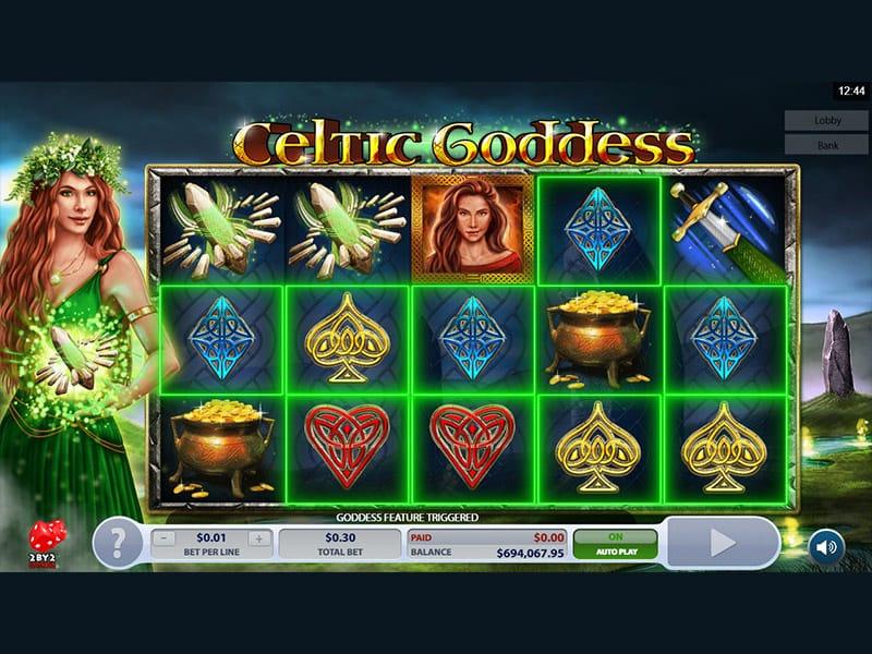 celtic goddess mega reel gameplay