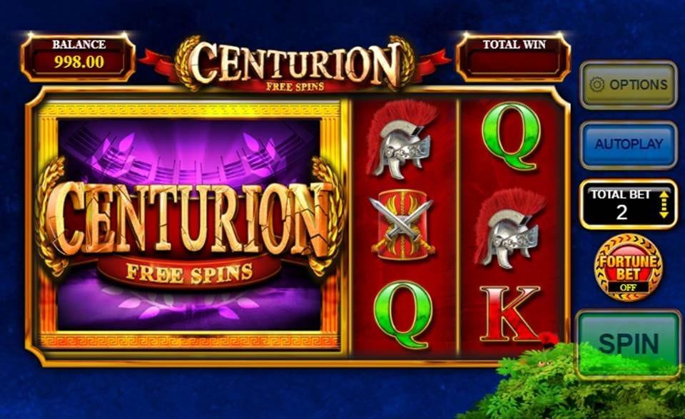 Centurion Free Spins Slots Online