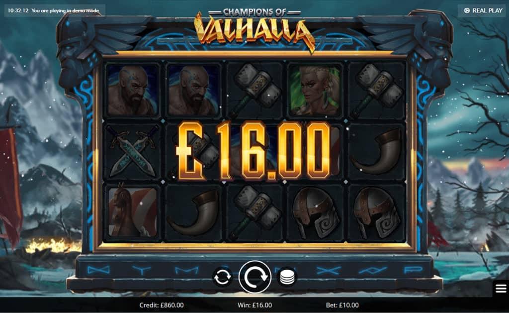 champions valhalla wins