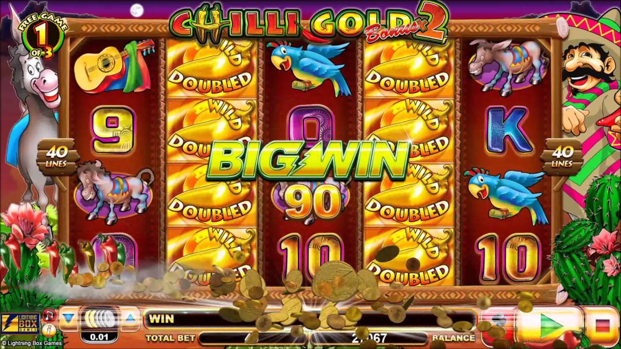 chilli gold online slot