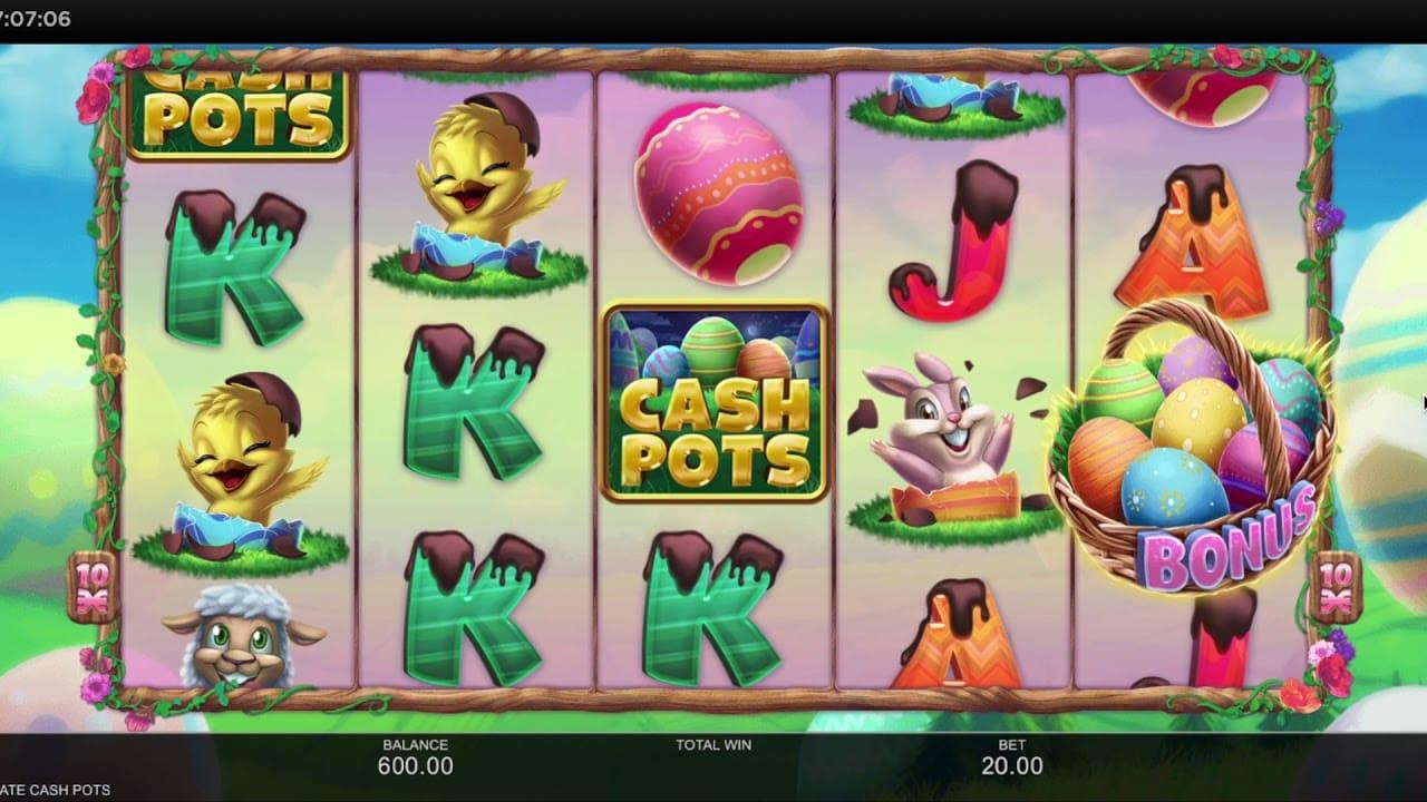 Chocolate Cash Pots Slot Gameplay