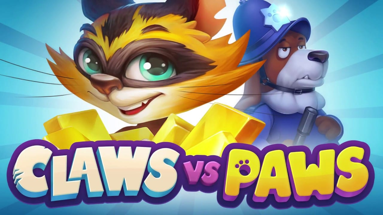 Claws Vs Paws Logo