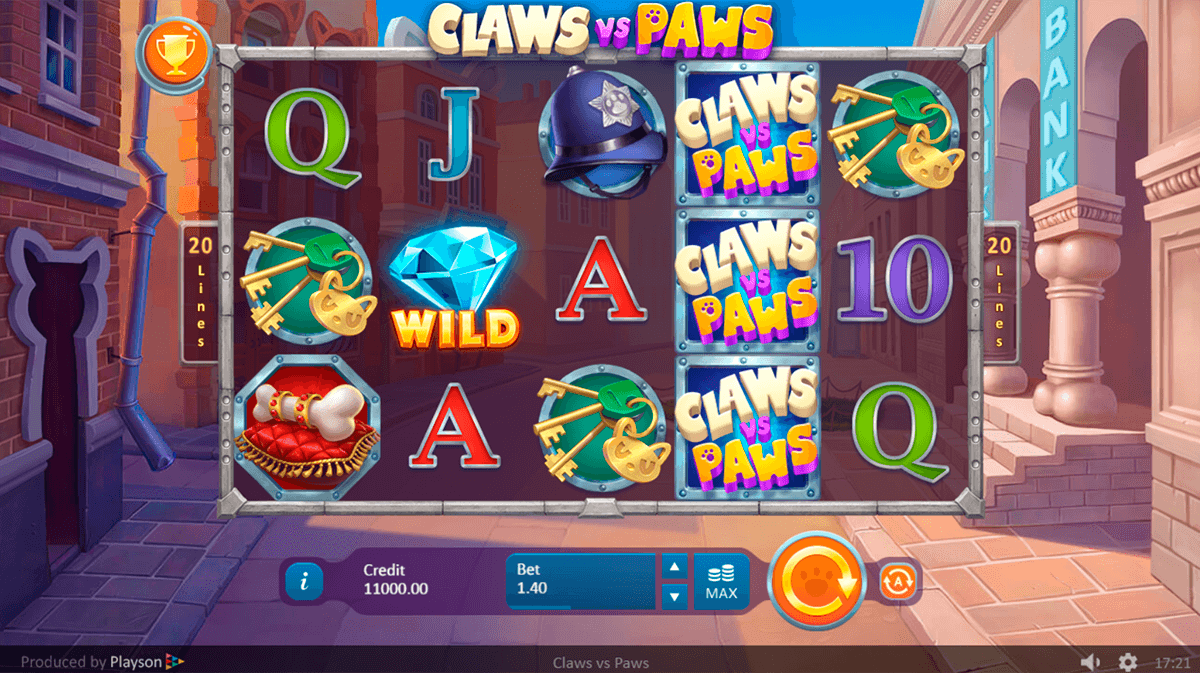 Claws vs Paws Slots