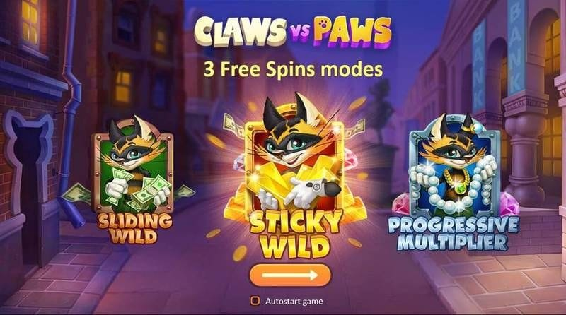 Claws vs Paws Slot Wild