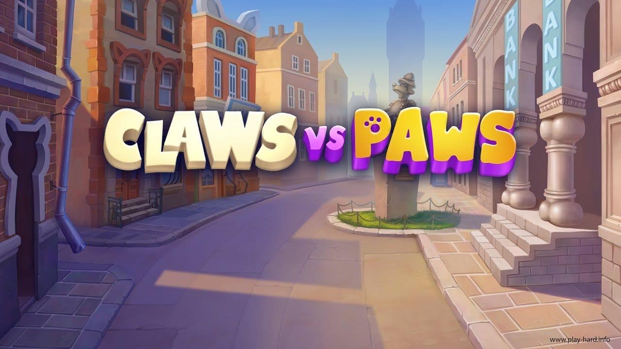 Claws vs Paws Slots Mega Reel