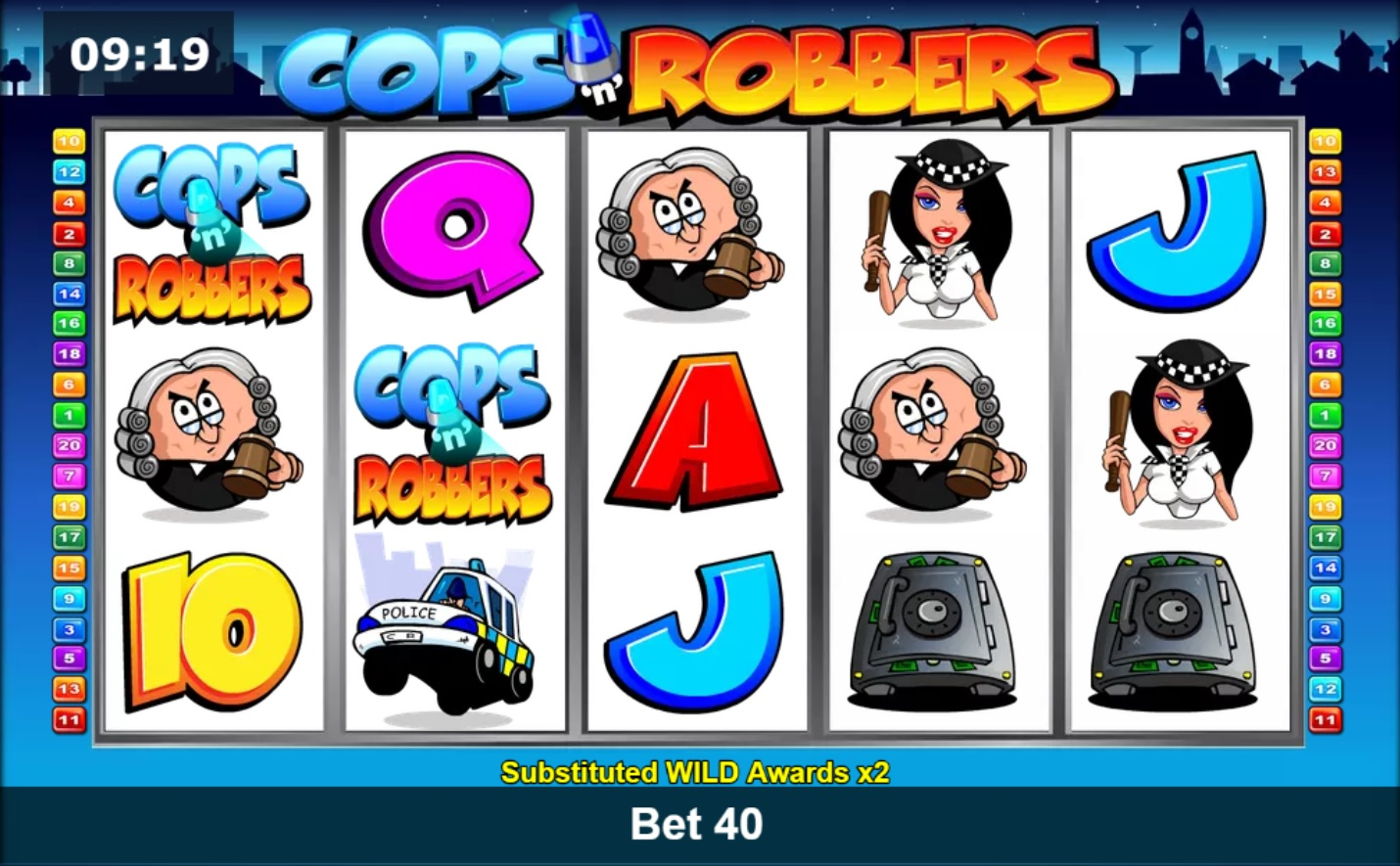 Cops and Robbers slots Online