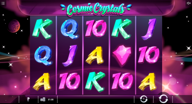 Cosmic Crystals Gameplay