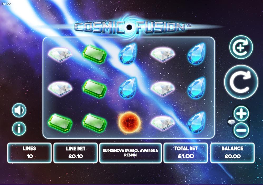 Cosmic Fusion Gameplay