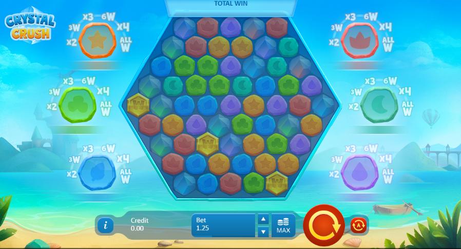 Crystal Crush Gameplay