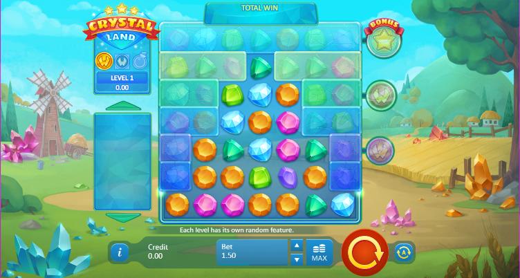 Crystal Land Gameplay