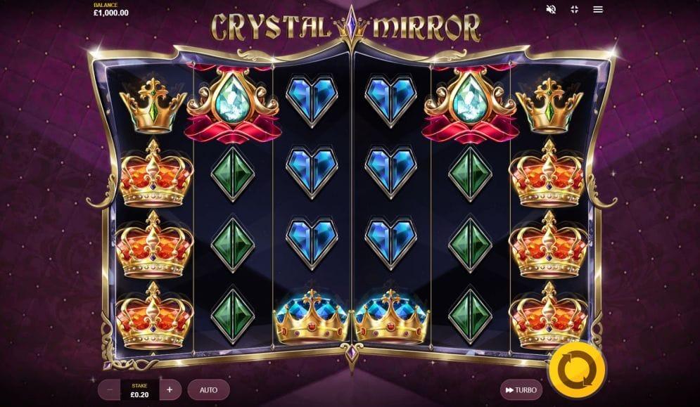 Crystal Mirror Slots Reels