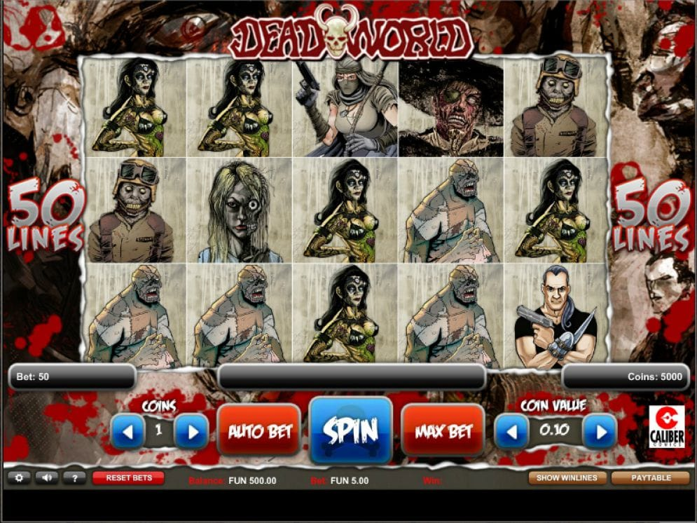 deadworld online slot