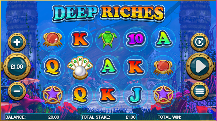 Deep Riches Gameplay