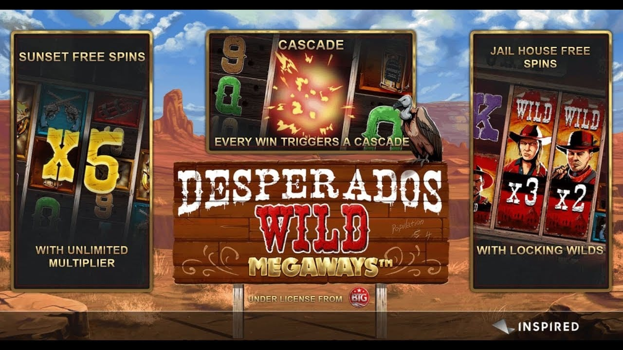 Desperados Wild MegaWays Bonus Features