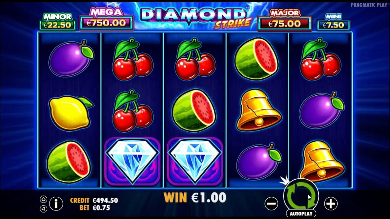 Diamond online slot