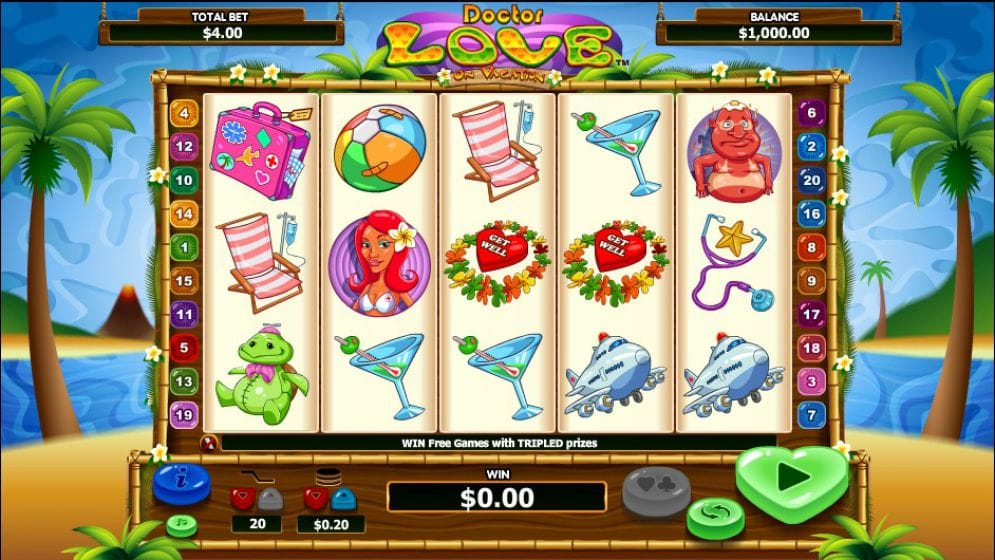 dr love on vacation online slot