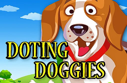 doting doggies slot mega reels