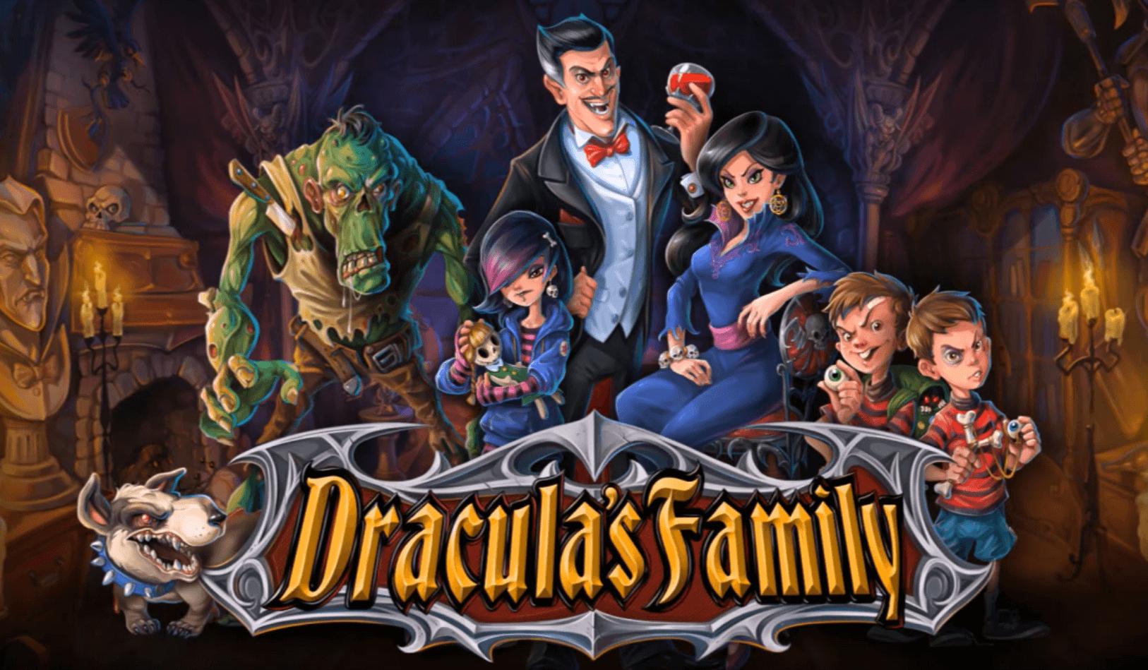Dracula's Family Slots Mega Reel