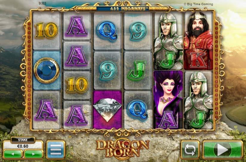 Dragon Born Slots Game