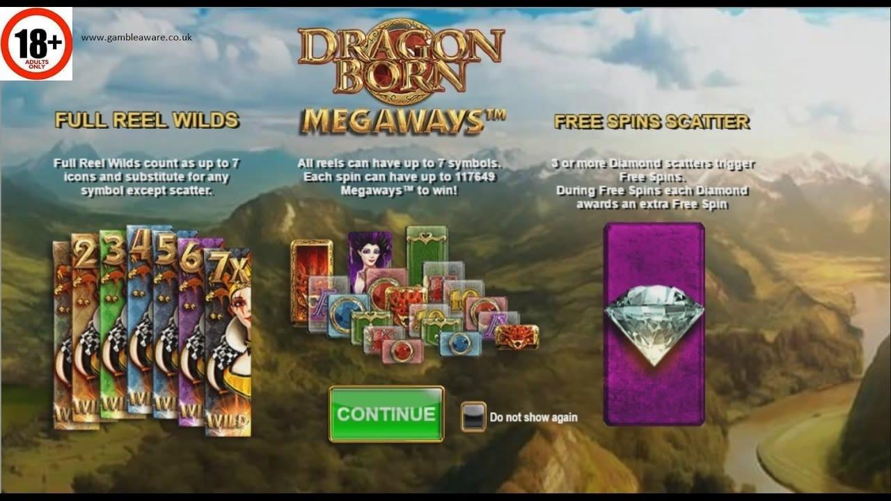 Dragon Born Slot Symbols