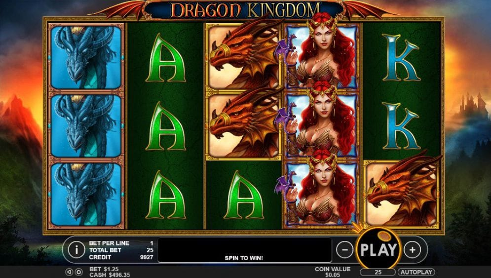 Dragon Kingdom Slots Game
