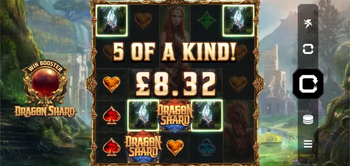 Dragon Shard Slot Win