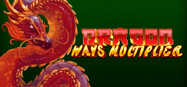 Dragon Ways Multiplier Slot Logo Mega Reel