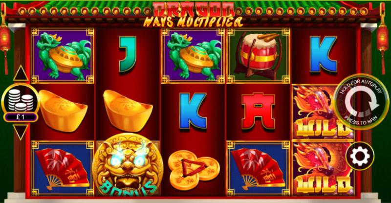 Dragon Ways Multiplier Slot Gameplay