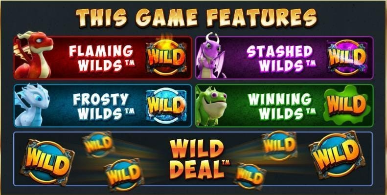 Dragonz Slot Bonus Features