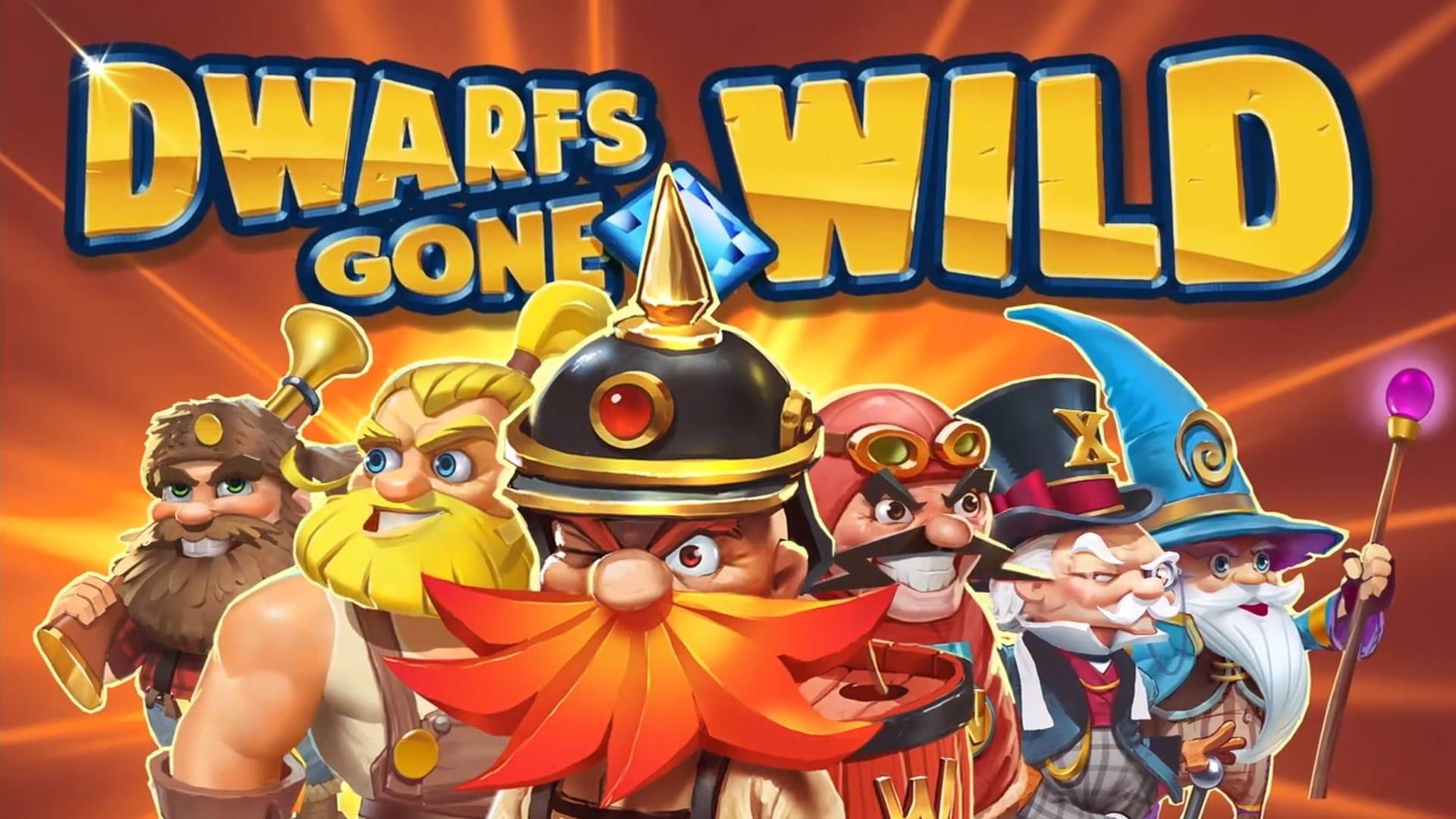 dwarfs gone wild online slot mega reels