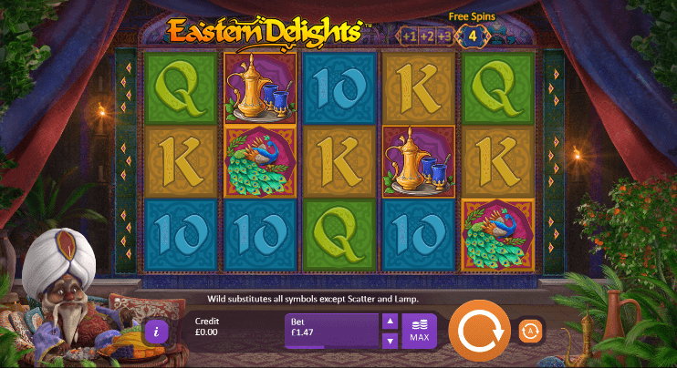 Eastern Delights Gameplay
