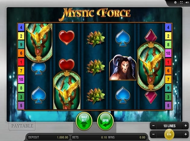 Mystic Force Slots Online