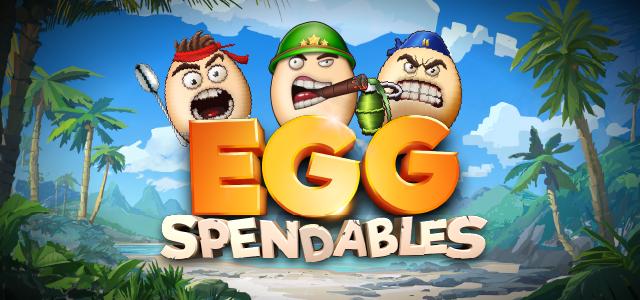 Eggspendables Slots Mega Reel